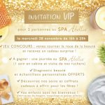 invitation VIP - SPA Abellie